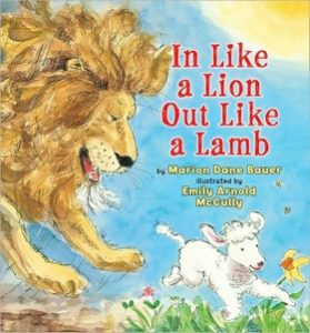 In Like a Lion, Out Like a Lamb by Marion Dane Bauer
