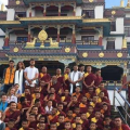 Ajay and the Monks of Khawalung